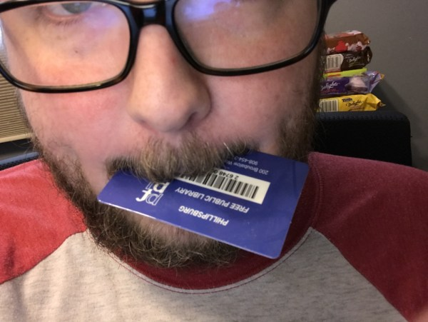 Me Eating My Library Card