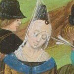 Constance of Castile, from Froissart's Chronicles