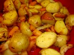 oven roasted potatoes and veggies 7