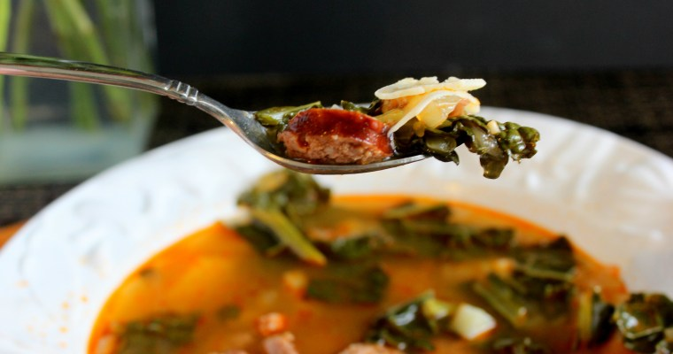 Soup's On:  Caldo Gallego