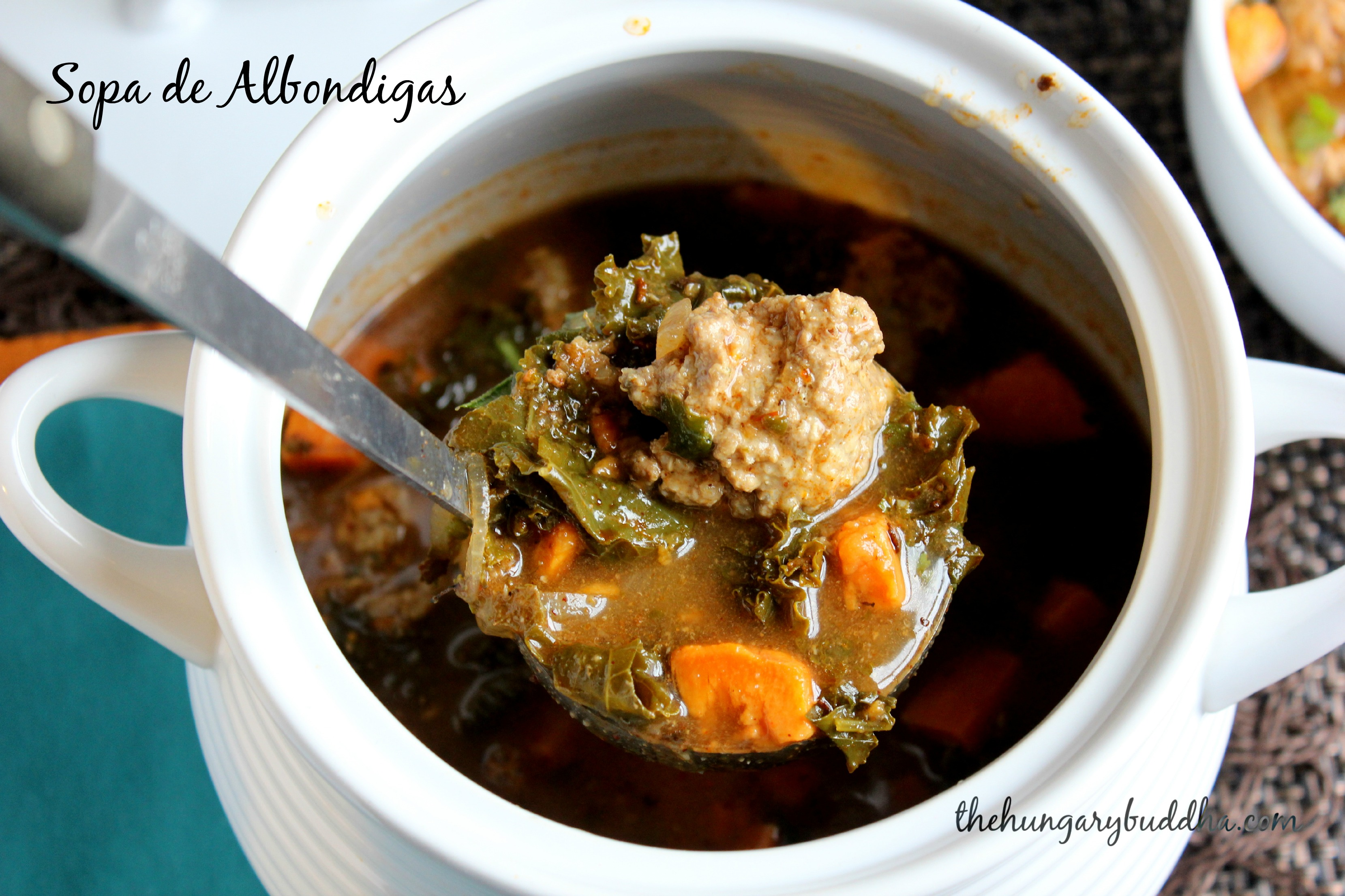 Turkey Twist:  Sopa de Albondigas, or Meatball Soup