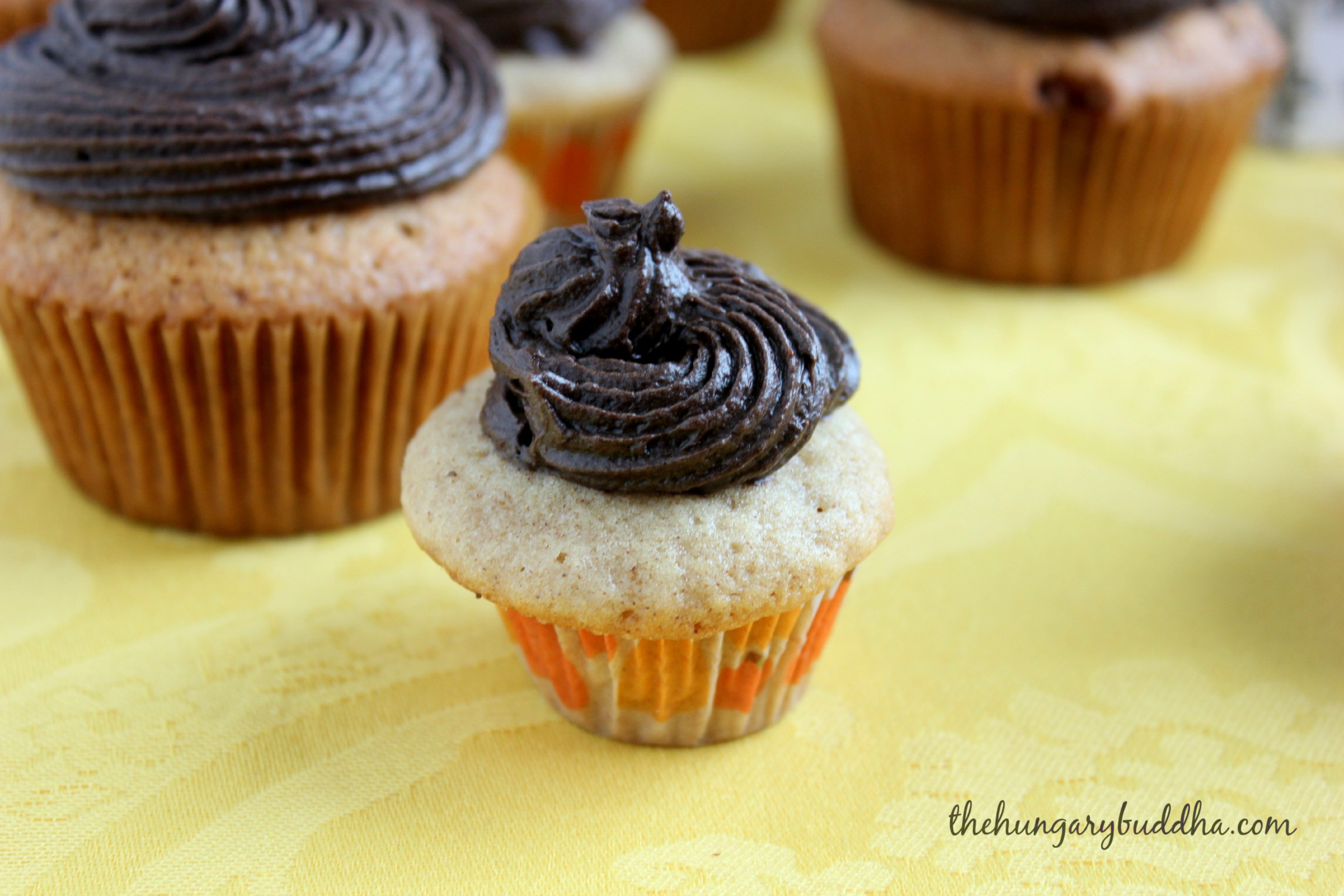 Mexican Hot Chocolate Cupcakes - The Hungary Buddha Eats the World