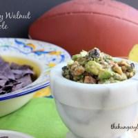 Holy Moly Guacamole!:  Blueberry Walnut Guacamole