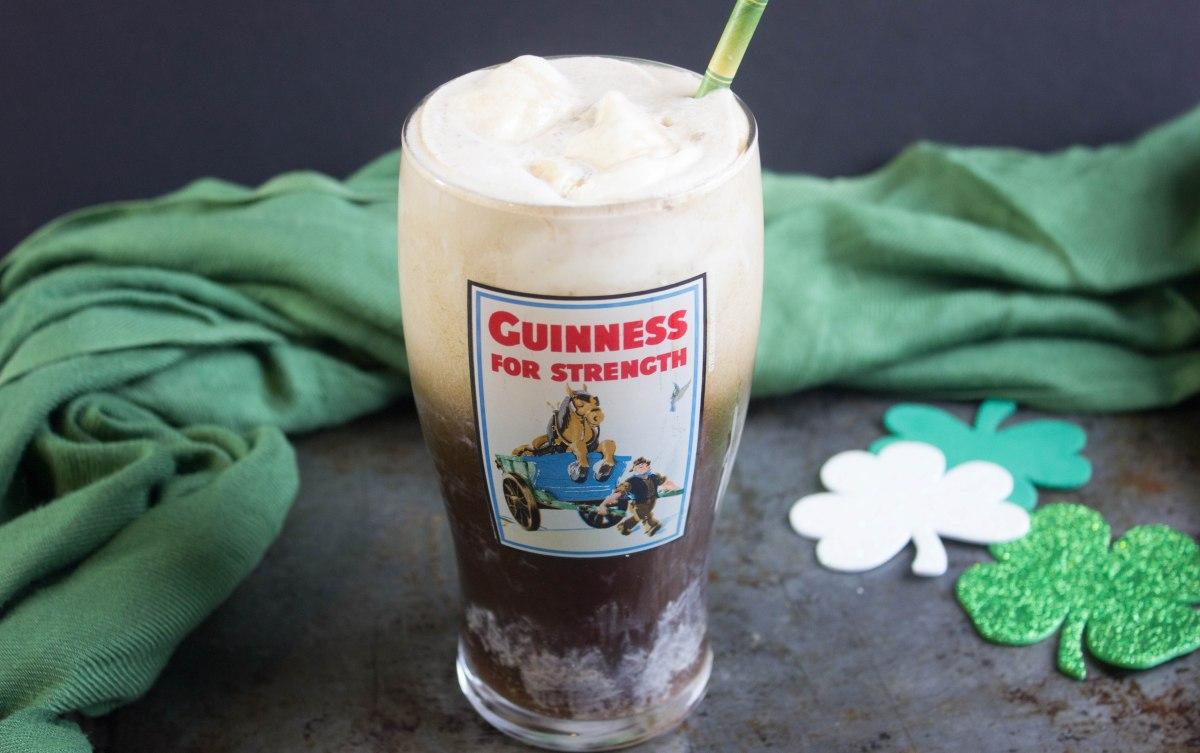 Guinness Irish Cream Ice Cream Float