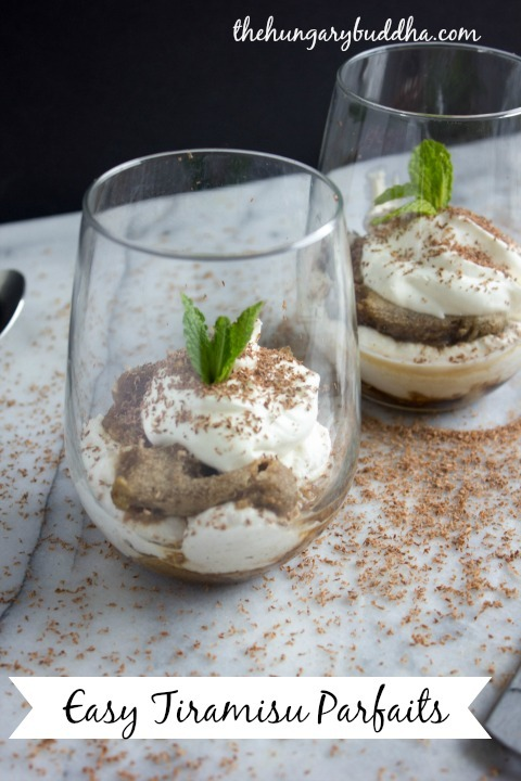 Quick Tiramisu Parfaits