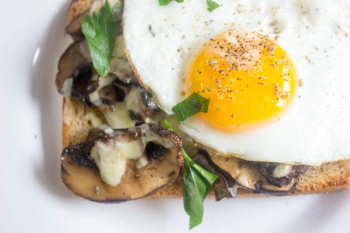 french mushroom toast