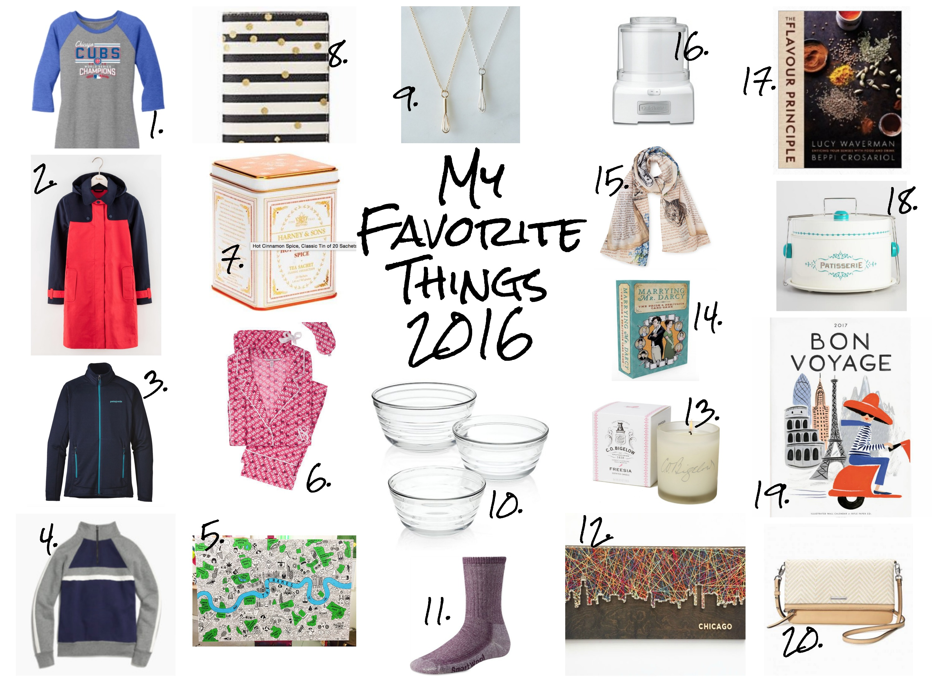 My Favorite Things: 2016