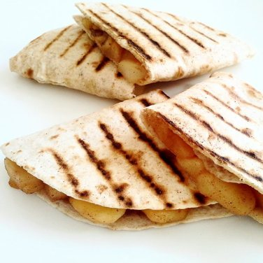 Apple Pie Quesadilla's (my mouth is watering)