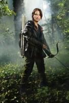 Katniss in The Arena