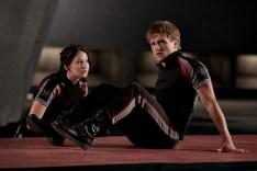 Katniss & Peeta in The Training Room