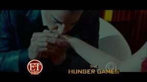 Movie Still: Katniss & Caesar