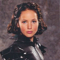Katniss in Chariot Outfit