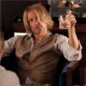 Movie Still: Haymitch Drinking