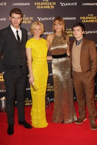 London Premiere: Liam, Elizabeth, Jennifer and Josh