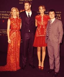 Berlin Premiere: Elizabeth, Liam, Jennifer & Josh