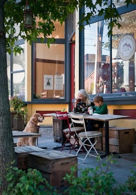 Volunteer Park Cafe - sharing stories and creating memories