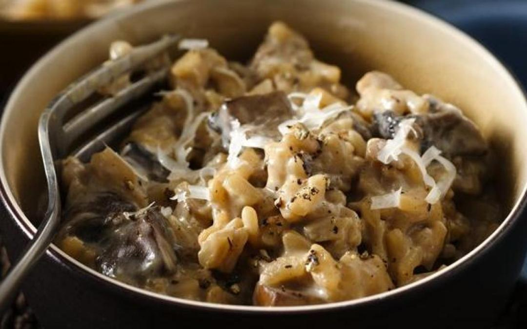 Recipes Porcini Mushroom Risotto - Photo by Jason Price, Seattle