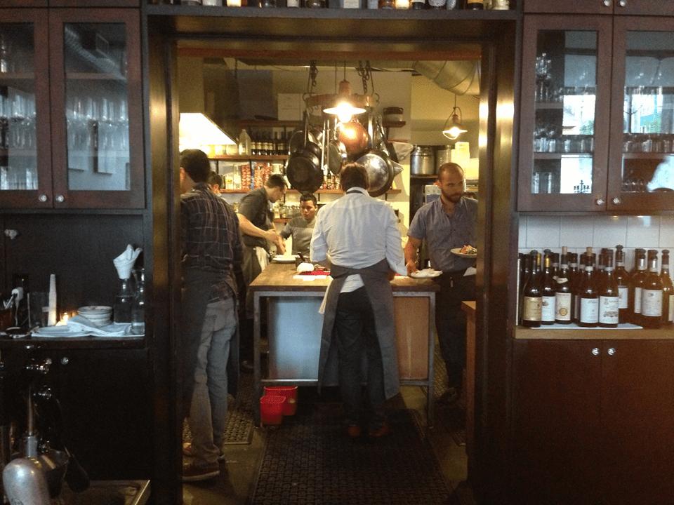 Chef Jason Stratton at Spinasse by Jason Price, Seattle
