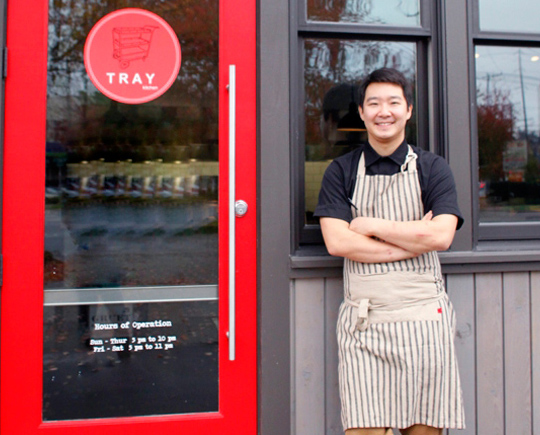 Heong Soon Park of Chan Seattle and Bacco Cafe