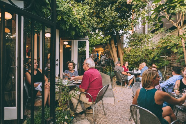 brimmer and heeltap patio