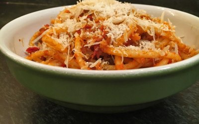 Bucatini all'Amatriciana Recipe
