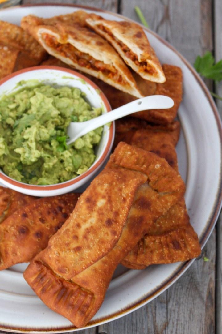 Vegan Puerto Rican Tacos