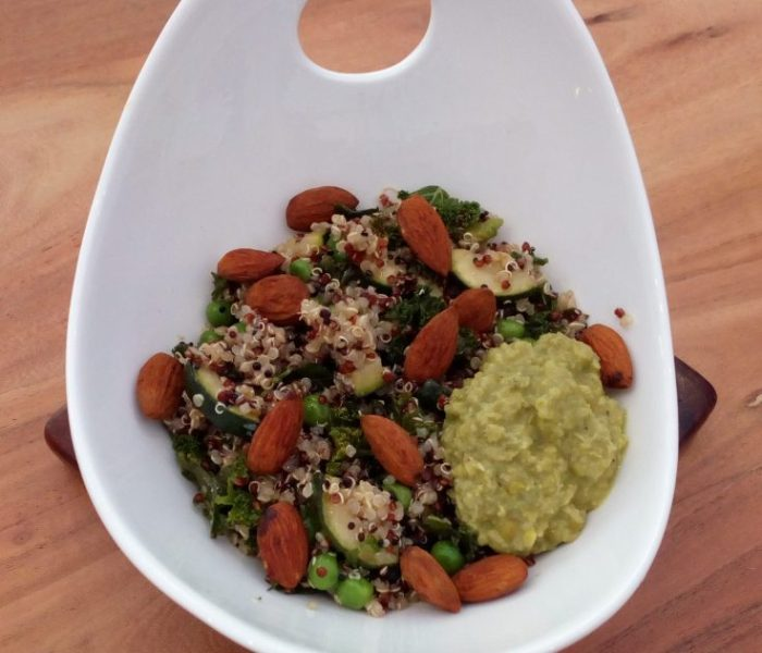 Green Quinoa Bowl