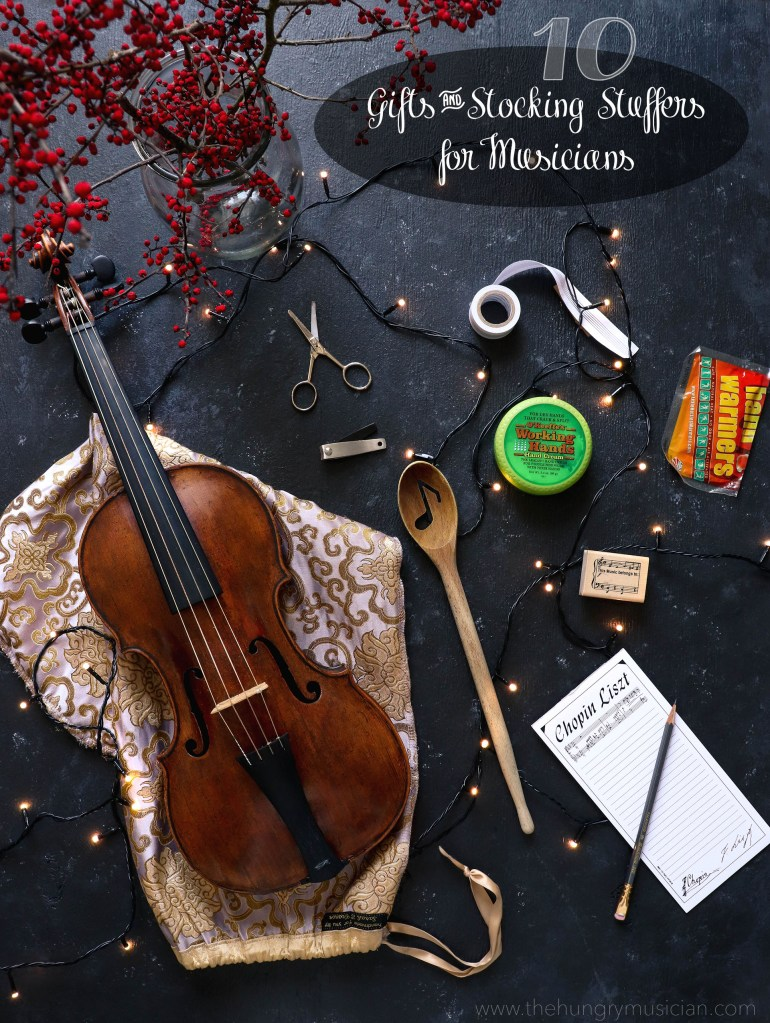 10 Perfect Gifts & Stocking Stuffers for Musicians