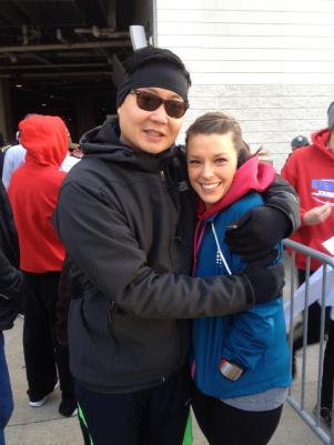 Before the Turkey Trot