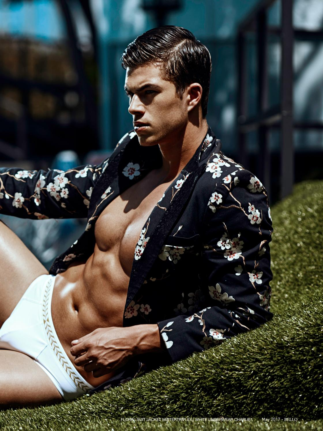CHASE MATTSON BY HAYDEN SU FOR BELLO MAGAZINE #152