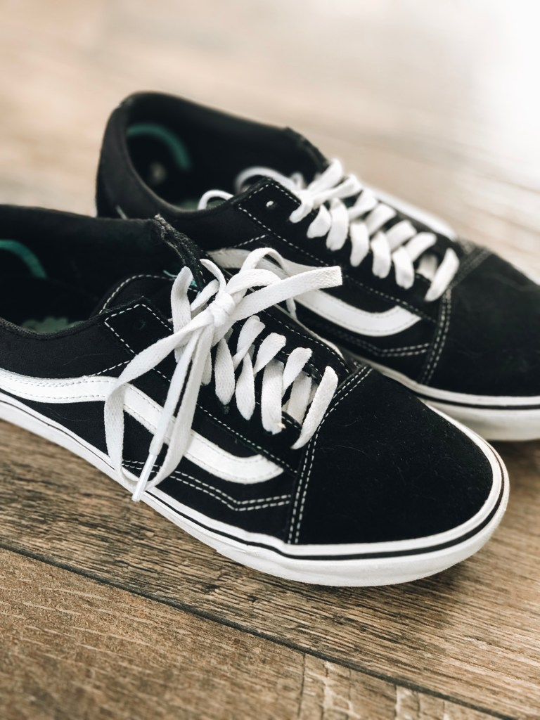 vans old skool comfycush in black