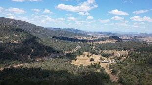 view from moonbi lookout