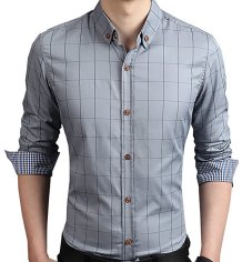 Slim Fit Printed Cast  men's shirt