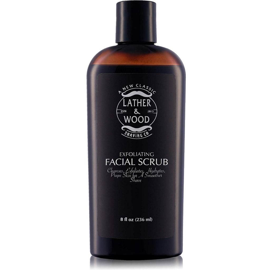 Lather & Wood's Face Scrub for Men