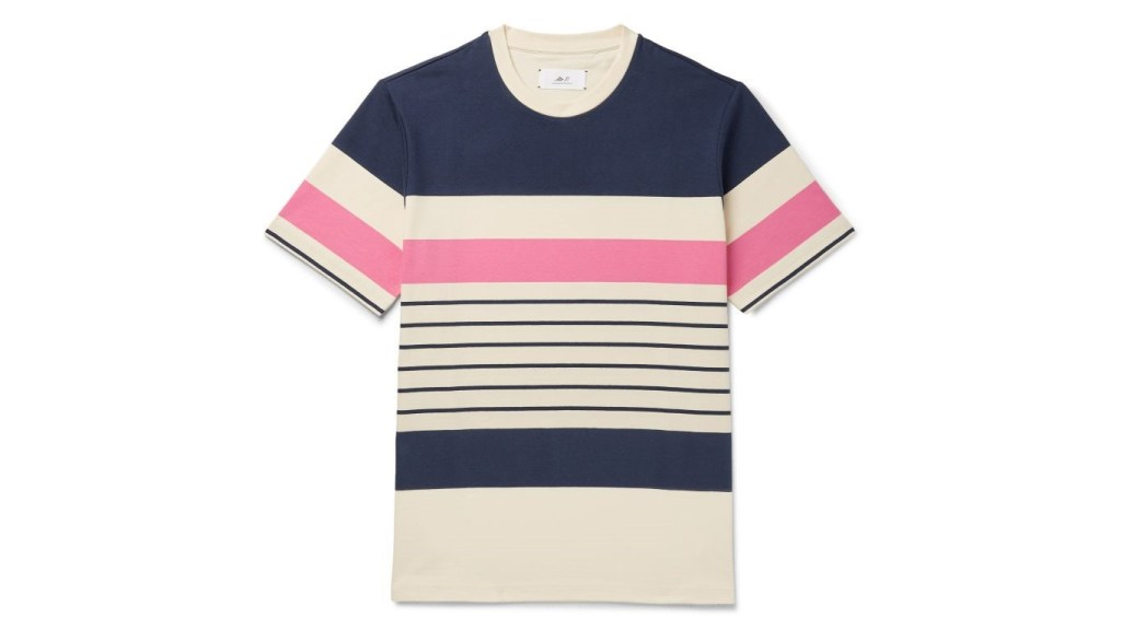 Mr P.striped T-shirt