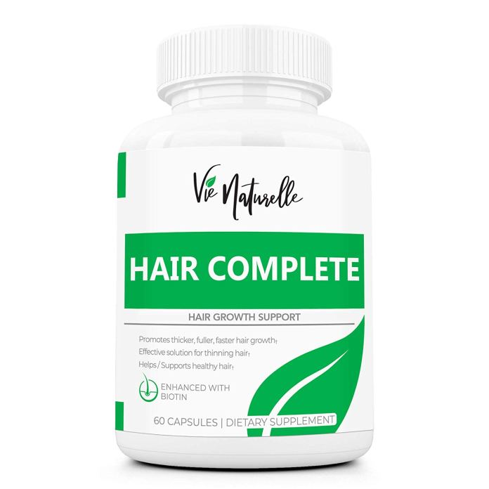 DHT Blocker Hair Growth Vitamins with Sal Palmetto