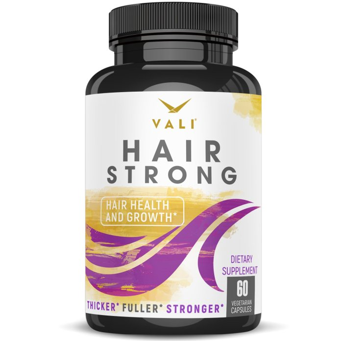 Hair Health Growth Vitamins with Biotin & Keratin