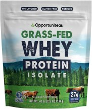 Grass Fed Whey Protein Powder Isolate