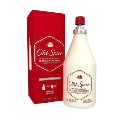 old spice classing cologne spray for men