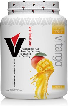 Vitargo Carbohydrate Powder | Feed Muscle Glycogen 2X Faster | 4.4 LB Mango Pre Workout & Post Workout