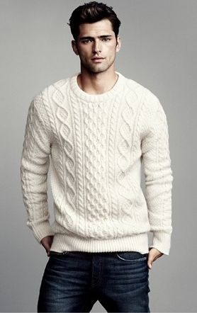 Cable knit sweater – Golf outfit