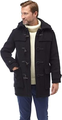 Original Montgomery Men's London Luxury Duffle Coat