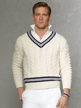cricket sweater stylish trends for men from 1920s