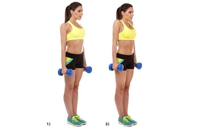 shoulder shrug exercise