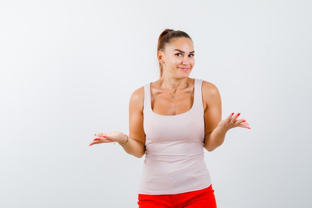 young-girl-shrugging-shoulders-showing-helpless-gesture-intermittent-fasting-diet
