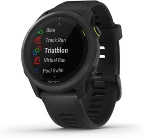 Garmin Forerunner 745, GPS Running Watch, Detailed Training Stats and On-Device Workouts