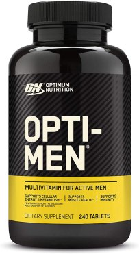 ON's Nutrient Optimization System for active men stacks 75+ active ingredients into a 3-tablet serving you can take all at one meal or spread across meals throughout the day. In addition to vitamins and essential minerals, the formula includes foundational amounts of botanical extracts that can be built on through consumption of a healthy, balanced diet. Think of Opti-Men as nutritional insurance for your fit lifestyle.