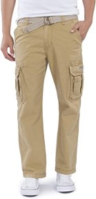 UNIONBAY Men's Survivor Iv Relaxed Fit Cargo Pant-Reg and Big and Tall Sizes