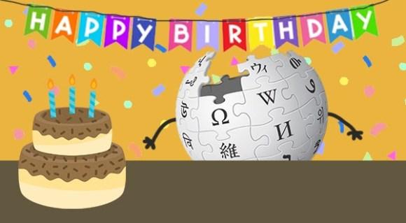 Happy 20th Birthday, Wikipedia