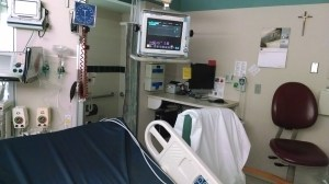 My first room at St. Mary's hospital